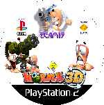miniatura Worms 3d Cd Custom Por Mierdareado cover ps2