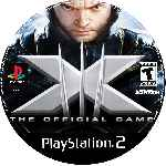 miniatura X Men 3 The Official Game Cd Custom V2 Por Clamarsa cover ps2
