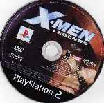 miniatura X Men Legends Cd Por Neobullettime cover ps2