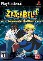 miniatura Zatch Bell Mamodo Batlles Frontal Por Skuky cover ps2