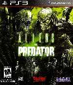 miniatura Aliens Vs Predator Frontal Por Humanfactor cover ps3
