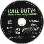miniatura Call Of Duty 4 Modern Warfare Disco Por Humanfactor cover ps3