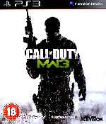 miniatura Call Of Duty Modern Warfare 3 Frontal Por Humanfactor cover ps3