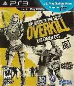 miniatura House Of The Dead Overkill Extended Cut Frontal Por Humanfactor cover ps3