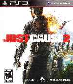 miniatura Just Cause 2 Frontal Por Humanfactor cover ps3