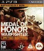 miniatura Medal Of Honor Warfighter Limited Edition Frontal Por Humanfactor cover ps3