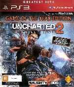miniatura Uncharted 2 Among Thieves Frontal V2 Por Humanfactor cover ps3