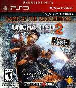 miniatura Uncharted 2 Among Thieves Frontal V3 Por Humanfactor cover ps3