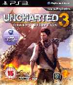 miniatura Uncharted 3 Drakes Deception Frontal V2 Por Humanfactor cover ps3