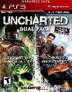 miniatura Uncharted Dual Pack Frontal Por Humanfactor cover ps3