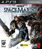 miniatura Warhammer 40000 Space Marine Frontal V2 Por Airetupal cover ps3