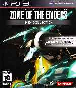 miniatura Zone Of The Enders Hd Collection Frontal Por Humanfactor cover ps3