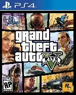 miniatura Grand Theft Auto V Frontal Por Andresrademaker cover ps4
