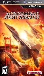 miniatura Ace Combat X Joint Assault Frontal Por Sapelain cover psp