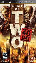 miniatura Army Of Two The 40th Day Frontal Por Duckrawl cover psp