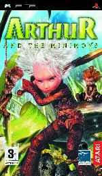 miniatura Arthur And The Minimoys Frontal Por Bossweb cover psp