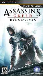 miniatura Assassins Creed Bloodlines Frontal Por Duckrawl cover psp