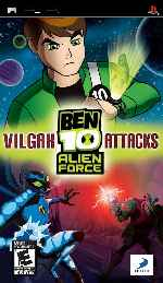 miniatura Ben 10 Alien Force Vilgax Attack Frontal Por Duckrawl cover psp