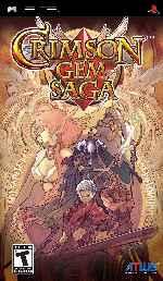 miniatura Crimson Gem Saga Frontal Por Duckrawl cover psp