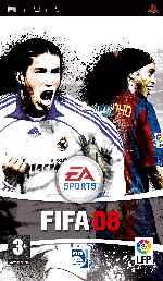 miniatura Fifa 08 Frontal Por Bossweb cover psp