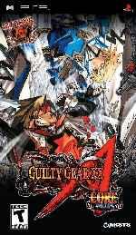 miniatura Guilty Gear Xx Frontal Por Duckrawl cover psp