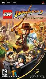 miniatura Indiana Jones 2 The Adventure Continues Frontal Por Duckrawl cover psp