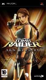 miniatura Lara Croft Tomb Raider Anniversary Frontal Por Bossweb cover psp