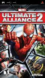 miniatura Marvel Ultimate Alliance 2 Frontal Por Mantrix2005 cover psp