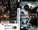 miniatura Medal Of Honor Heroes 2 Por Hyperboreo cover psp