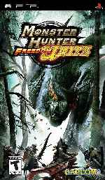 miniatura Monster Hunter Freedom Unite Frontal Por Duckrawl cover psp