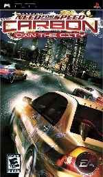 miniatura Need For Speed Carbon Own The City Frontal Por Alancd77 cover psp