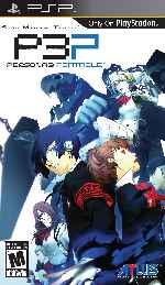 miniatura Persona 3 Portable Megami Tensei Frontal Por Sapelain cover psp