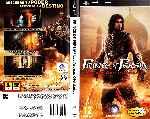miniatura Prince Of Persia Las Arenas Olvidadas Por Hyperboreo cover psp