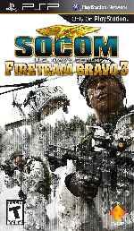 miniatura Socom Us Navy Seals Fireteam Bravo 3 Frontal Por Sapelain cover psp