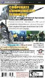 miniatura Socom Us Navy Seals Fireteam Bravo 3 Trasera Por Sapelain cover psp