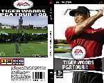 miniatura Tiger Woods Pga Tour 08 Custom Por Aka49 cover psp