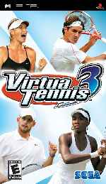 miniatura Virtua Tennis 3 Frontal Por Asock1 cover psp