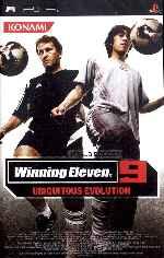 miniatura Winning Eleven 9 Ubiquitous Evolution Frontal Por Asock1 cover psp