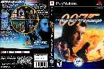 miniatura 007 The World Is Not Enough Dvd Custom V2 Por Matiwe cover psx