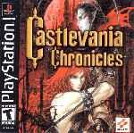 miniatura Castlevania Chronicles Frontal V2 Por Saxugtin cover psx