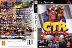 miniatura Crash Team Racing Dvd Custom Por Matiwe cover psx