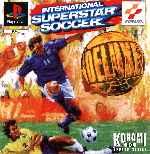 miniatura International Superstar Soccer Deluxe Frontal Por Franki cover psx