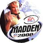 miniatura Madden Nfl 2000 Cd Por Pispi cover psx