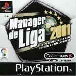 miniatura Manager De Liga 2001 Frontal Por Franki cover psx