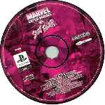 miniatura Marvel Super Heroes Vs Street Fighter Cd Por Seaworld cover psx