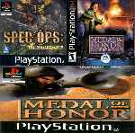 miniatura Medal Of Honor 3 En 1 Frontal Por Wilesil cover psx