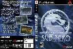 miniatura Mortal Kombat Mythologies Sub Zero Dvd Custom Por Matiwe cover psx