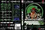 miniatura Mortal Kombat Special Forces Dvd Custom Por Matiwe cover psx