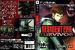 miniatura Resident Evil Survivor Dvd Custom Por Matiwe cover psx