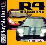 miniatura Ridge Racer Type 4 Frontal V2 Por Sapelain cover psx